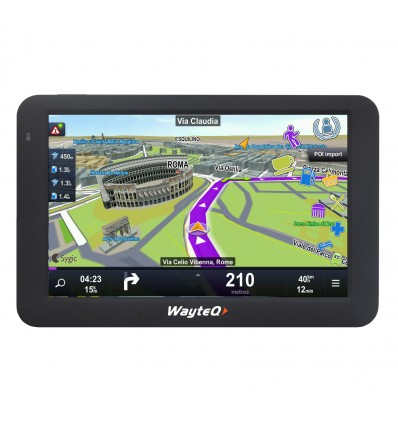WayteQ x985BT + Sygic 3D GPS navigacija