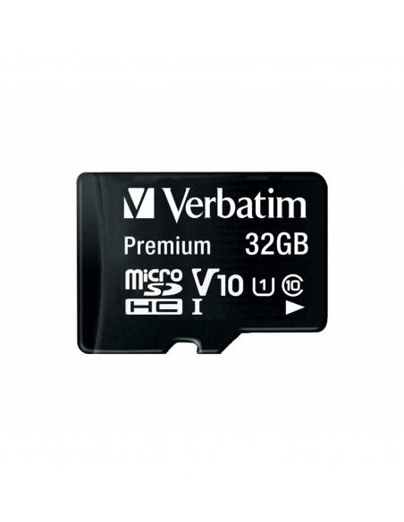 Verbatim MicroSD 32GB UHS-I V10 U1 Class 10 Memory Card with Adapter