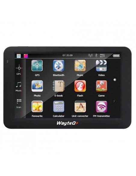 Wayteq x985BT GPS navigacija