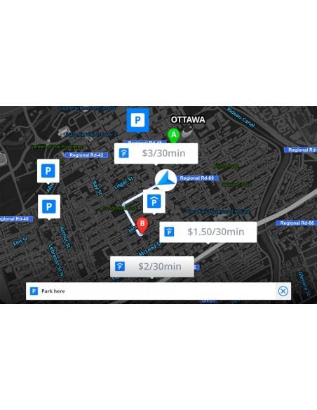 WayteQ xRider Smart motoristična navigacija