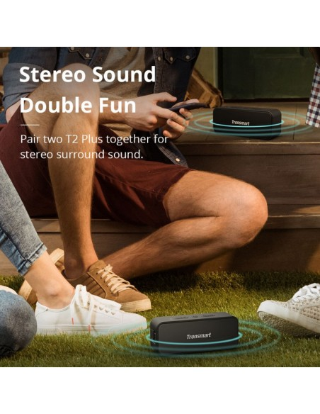 Tronsmart Element T2 Plus Portable Bluetooth Speaker
