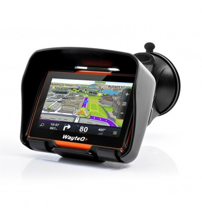 WayteQ xRIDER Motorcycle GPS Navigation + Sygic 3D