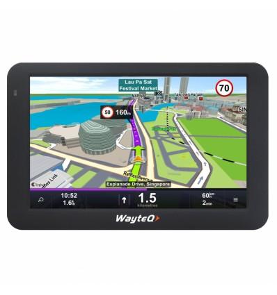 WayteQ x995 Sygic truck Android GPS navigation